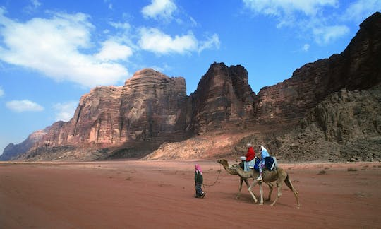 Jeep tour to Wadi Rum from Aqaba