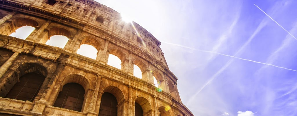 Colosseum and Roman Forum guided tour for small groups
