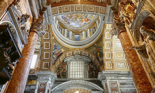 Vatican Museums, St. Peter's and Sistine Chapel tickets with skip-the-line private tour