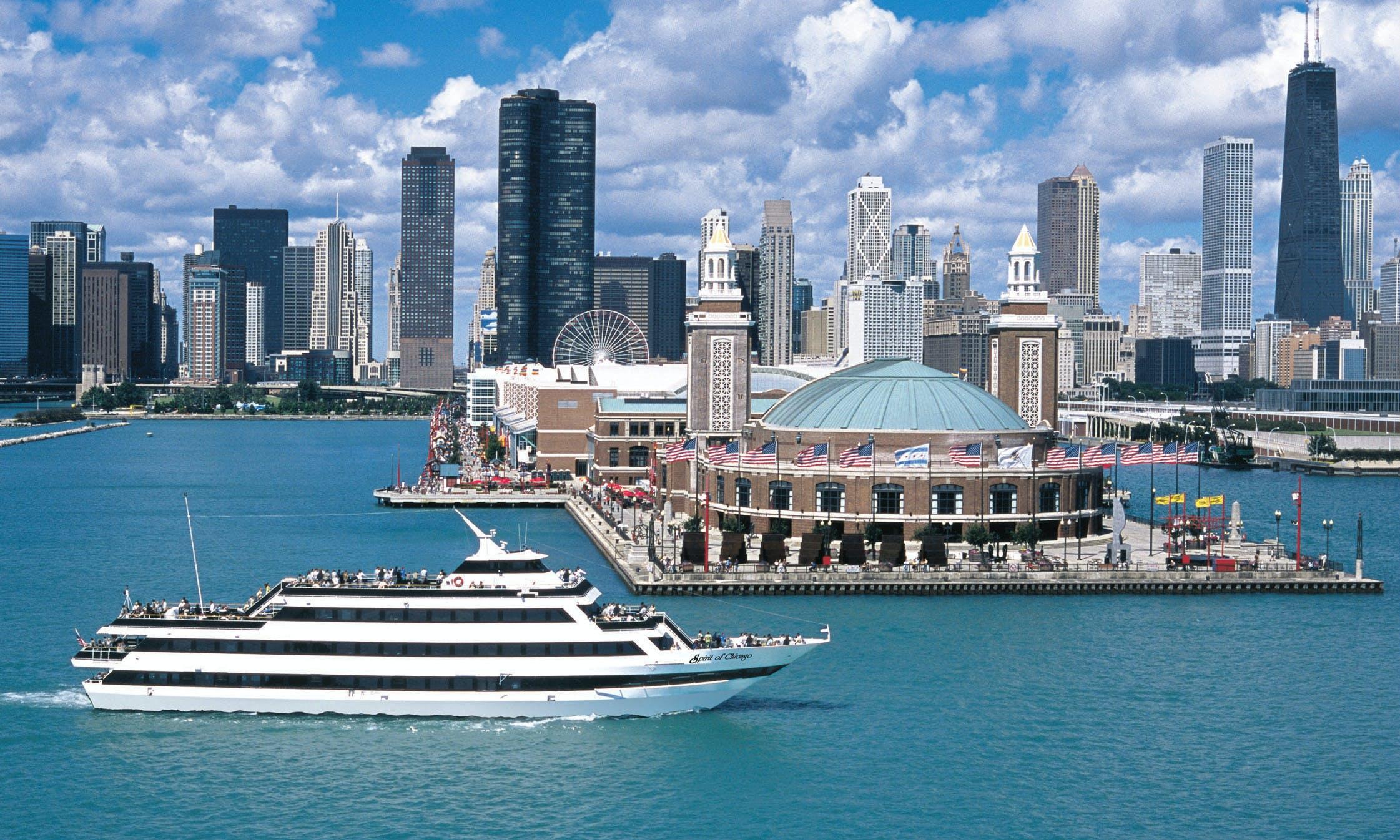 Spirit of Chicago dining cruise