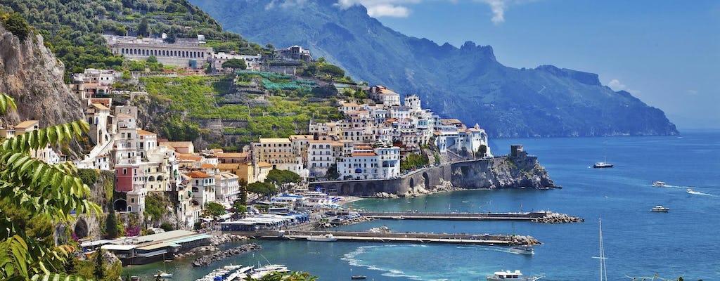 Gita di un giorno della Costiera Amalfitana e di Positano da Roma in treno ad alta velocità
