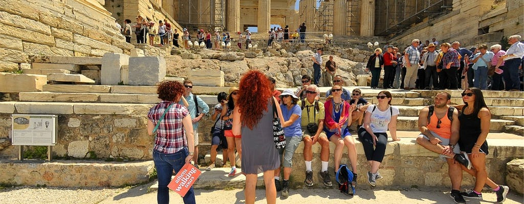 Athens walking tour: Acropolis, Zappeion Hall and Syntagma metro museum