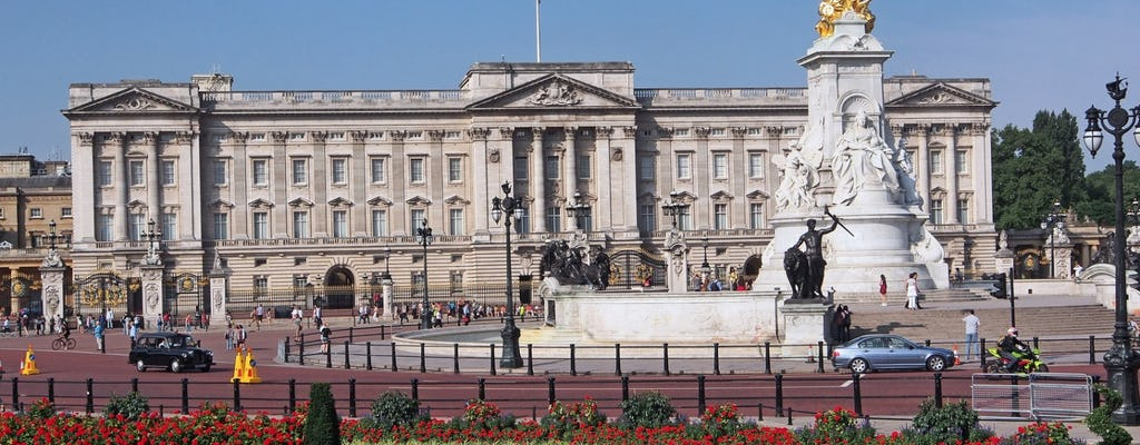Buckingham Palace and St Paul's Cathedral tickets with London bus tour
