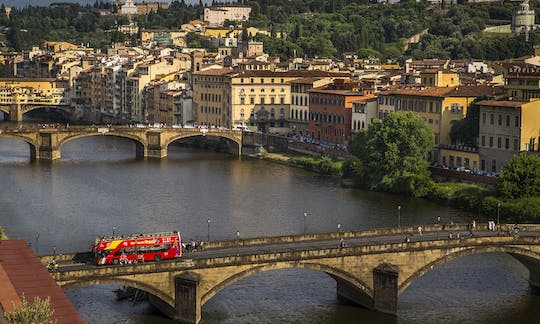 Florence hop-on hop-off bus tour - 24, 48, 72-hour tickets