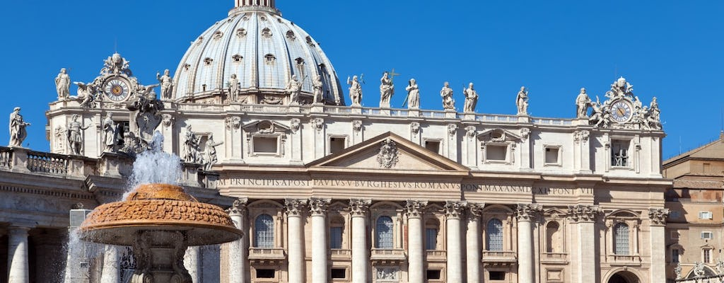 Papal Audience Experience with Pope Francis including tickets