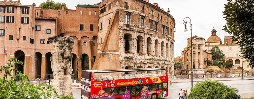 Visite de Rome en bus hop-on hop-off - Ticket à la journée, 24, 48 ou 72 heures