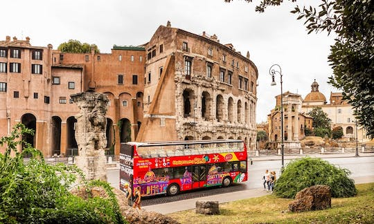 Hop-on hop-off Rome bus tour 24 or 48-hour tickets