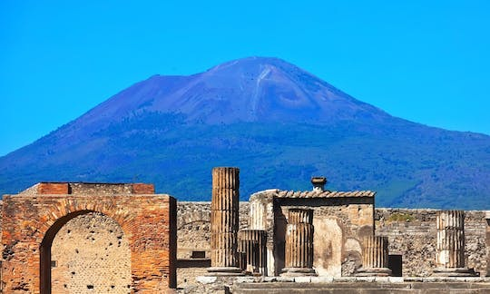 Pompeii half-day tour from Rome with high speed train