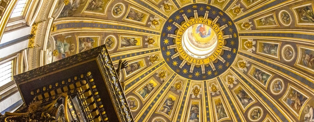 Saint Peter's Basilica with audio guided tour and fast-track entrance