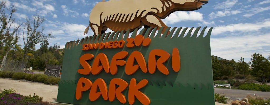 Biglietti per lo Zoo di San Diego Zoo Safari Park