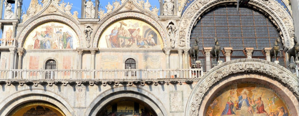 Lo mejor de Venecia: recorrido a pie con Palacio Ducal, Basílica de San Marcos y sus terrazas