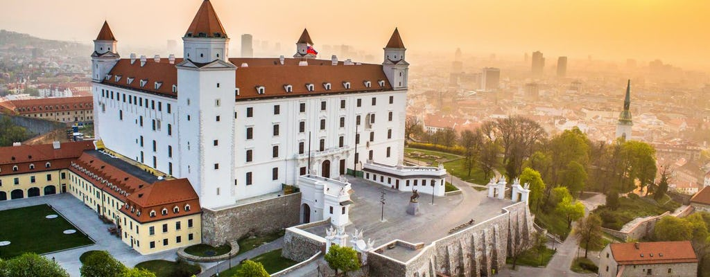 Full day bus tour to Bratislava from Vienna with Lunch