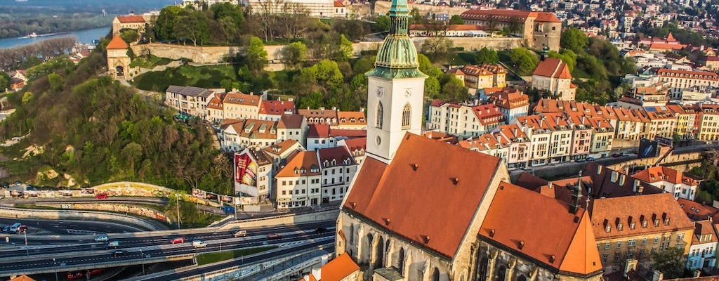 Full Day Bus Tour to Bratislava from Vienna with Coffee and Cake