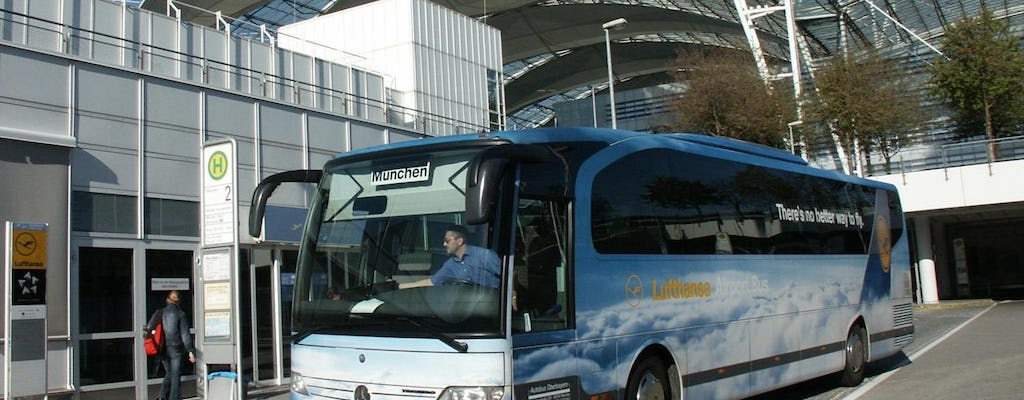 Lufthansa airport bus to and from Munich city center