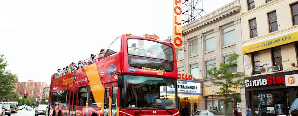FreeStyle Pass ™  tours de 72 horas hop-on, hop-off com escolha de  3, 5 ou 7 atrações