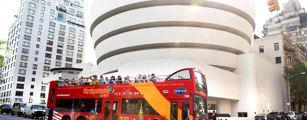 FreeStyle Pass ™ New York: passeios de embarque e desembarque com entrada para museu e cinco opções