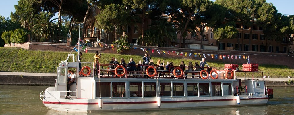 Rome Hop-On Hop-Off River Cruise 24 Hours