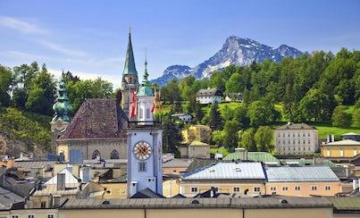Ver la ciudad,Salir de la ciudad,Excursiones de un día,Excursión a Salzburgo desde Múnich,Con visita al Distrito de los Lagos