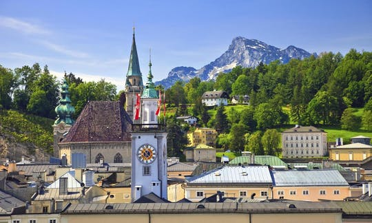 Salzburg and Lake District Day Tour from Munich
