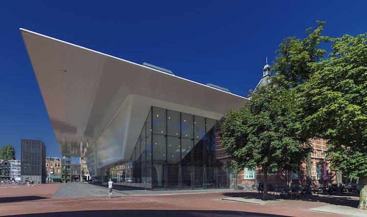 stedelijk museum facade