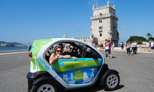 Tour di Lisbona in auto elettrica con Guida Audio GPS