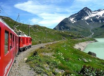 Treno Bernina Express: escursione di un giorno sulle Alpi svizzere