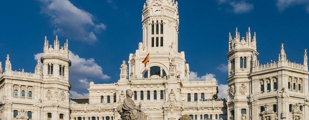 Tour panoramico di Madrid con biglietti salta fila per il Museo Thyssen-Bornemisza