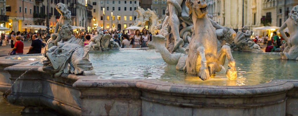 Rome: twilight city stroll and gelato tasting