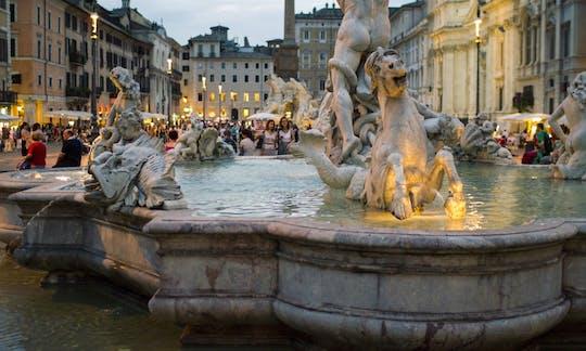 Rome: twilight city stroll and gelato tasting