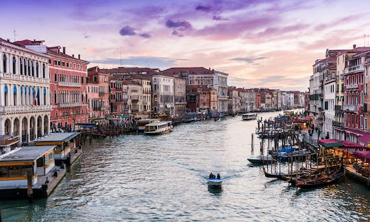 Water Taxi Round-Trip Shuttle from Venice Airport, railway station and Marittima cruise terminal
