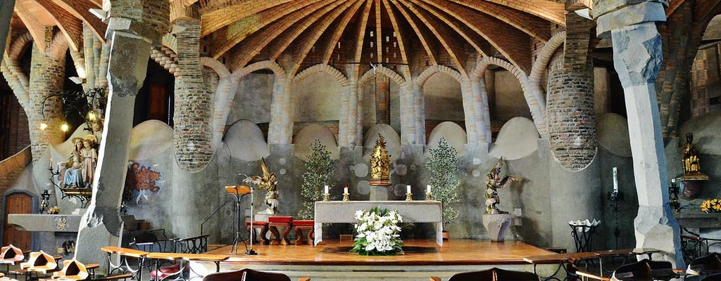 Colonia Güell y la Cripta: entradas y visita con audioguía