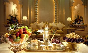 Afternoon High Tea At Emirates Palace In Abu Dhabi