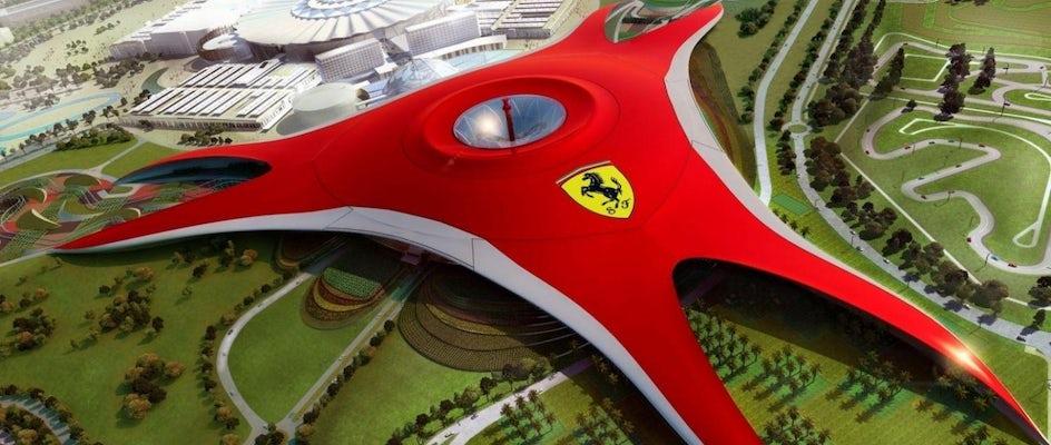 Ferrari World Abu Dhabi tickets | mut