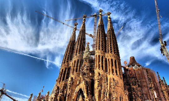 Gaudi highlights eBike tour with Sagrada Familia tickets