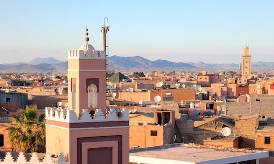 Visita guiada de Marrakech durante o dia inteiro com almoço