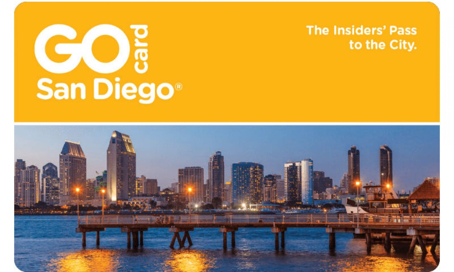 Go San Diego Card + Downloadable Guidebook