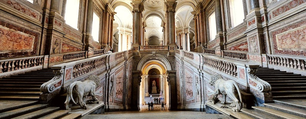 Royal Palace of Caserta small-group tour with a local guide