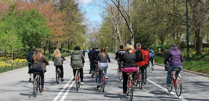 Central Park Guided Bike Tour with Map | mut on