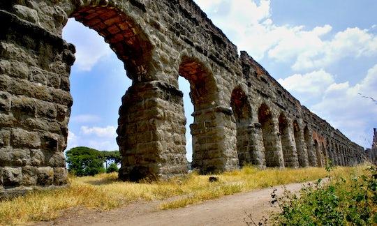 The Appian Way, St Sebastian catacombs & the Aqueduct Park coach tour