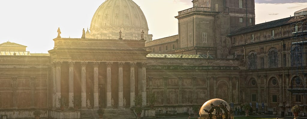 Vatican City: Exclusive Half-Day Guided Tour with Breakfast and Gardens