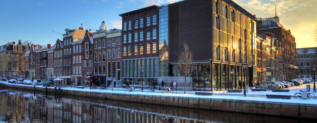 The Anne Frank story before the annex guided walking tour in Amsterdam