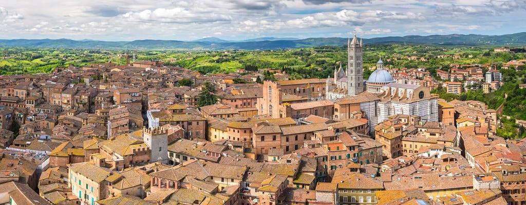 Siena, San Gimignano and Chianti: Wine Day Tour from Pisa