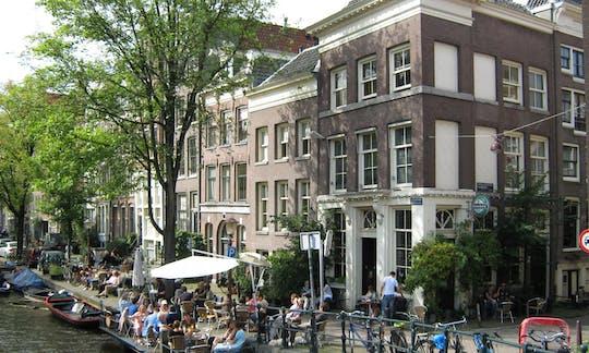 Passeio a pé pelo distrito de Jordaan em Amsterdã