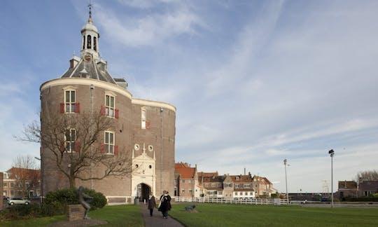 Holanda del Norte paisaje recorrido en tren de vapor y nave con Zuiderzeemuseum
