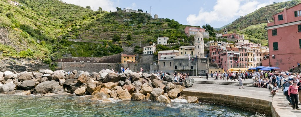Cinque Terre e Portovenere: passeio de um dia de Florença