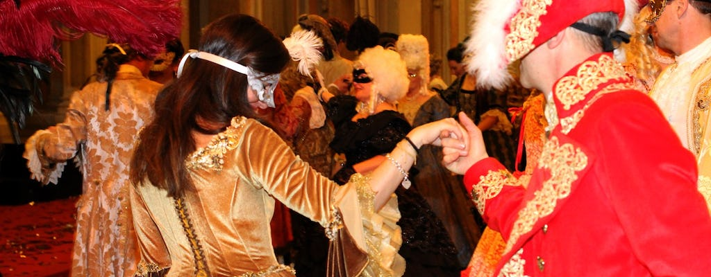 Venice Carnival 2020: Minuetto dance with gala dinner at the Ridotto