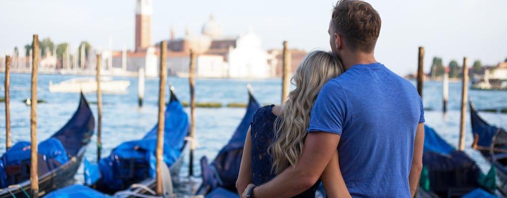 Tour pomeridiano di Venezia a piedi e giro in gondola