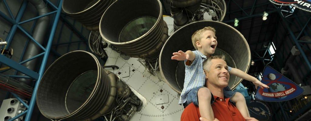 Biglietti per il Kennedy Space Center e transfer di andata e ritorno da Orlando