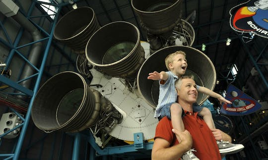 Kennedy Space Center tickets and roundtrip transportation from Orlando