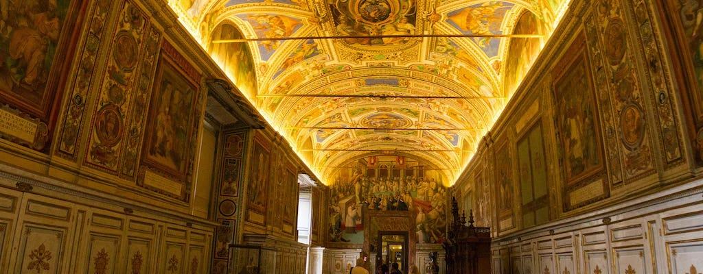 Vatikantour am frühen Morgen mit Sixtinischer Kapelle und Petersdom